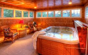 martha s vineyard bed and breakfast room with queen size bed private hot tub and