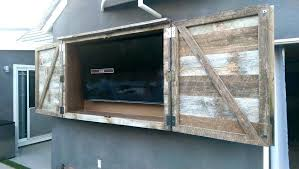 outdoor tv cabinet plans full size of flat screen cabinet
