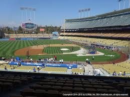 Los Angeles Dodgers Seating Best Seats At Dodger Stadium