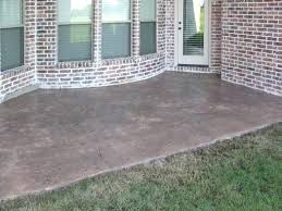 new concrete patio sealer for brilliant sealing residence decorating plan a stamped best of how to seal o1