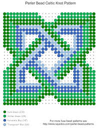 Perler Bead Pattern Maker Magnificent Irish Celtic Knot Perler Bead Pattern Stylized Irish Celti Flickr