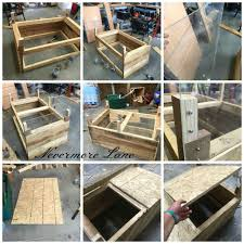 Diy Dog Bed Pallet Wood Dog Bed With Storage Diy Upcycle Palletwood