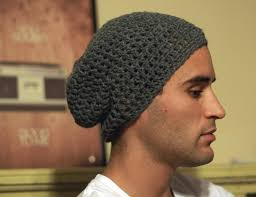 Mens Crochet Beanie Pattern Adorable Cool Mens Slouchy Beanie Crochet Pattern Free Find This Pin And More