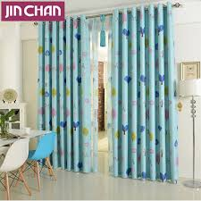 Turquoise Living Room Curtains Compare Prices On Cartoon Window Curtains Online Shopping Buy Low