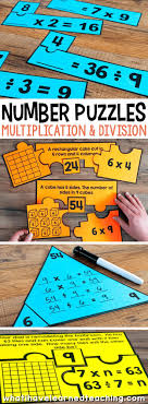 number puzzles for third grade engage students in using a variety of models strategies and