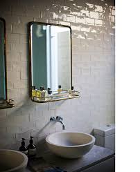 Art Deco Bathroom Mirror Awesome Great Contemporary Wall Style