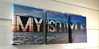 make your own triptych canvas