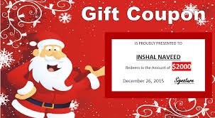 11 Free Sample Christmas Gift Certificate Templates