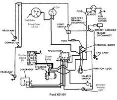 ford 600 tractor wiring diagram ford tractor series 600 electric model a ford generator wiring diagram wiring diagram for '59 workmaster 601 yesterday's tractors
