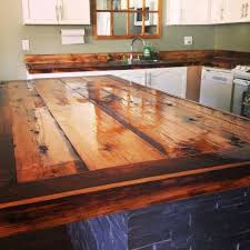 wood kitchen countertops while getting our cottage decorated