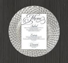 Wedding Menu Template 41 Free Word Pdf Psd Eps Format