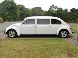 VW Classic Beetle 2003 Mexican Import-Stretched, White with ...