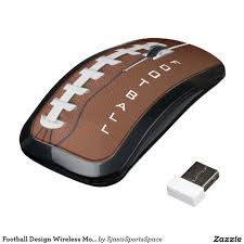 Wireless Mouse Cat Design Football Design Wireless Mouse Zazzle Com In 2019 For