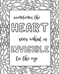 Coloring Staggering Quote Coloring Pages For Adults Invisible