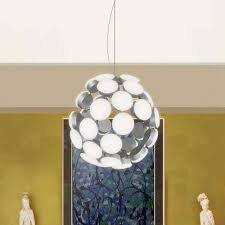 48 watt silver integrated led chandelier