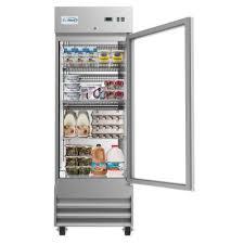 see thru door refrigerators