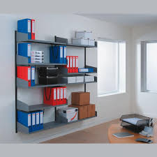 wall shelves for office. technic office shelving wall mounted with folders shelves for i