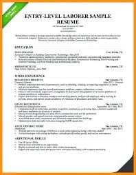 Good Mes Examples Me Summary Entry Level For A Resume Samples