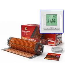 Электрический <b>теплый пол Теплолюкс ProfiMat 180</b>-1,0 м.кв с ...