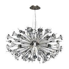 worldwide lighting starburst crystal sputnik chandelier