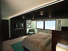 Bedroom Interior Tv Wall Idea