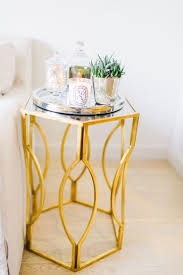 Accent Table Decorating Ideas Best 25 Gold Side Tables Ideas On Pinterest Gold Accents Gold