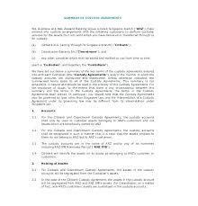 Joint Custody Agreement Template Templates Free Sample Example ...