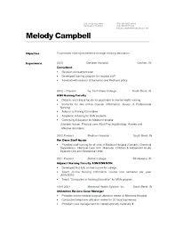Dental Staff Nurse Resume Radiology Nurse Resume Registered Nurse ...