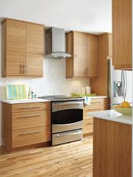 Bamboo Cabinets Kitchen The Clean Lines And Modern Look Of Kitchen Crafts Summit