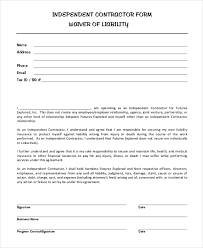 liability waiver form template free sample liability release form sports liability waiver form template