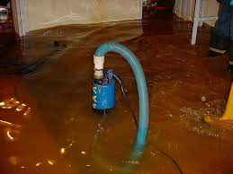 pump out a flooded basement