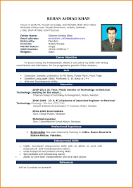 10 Resume Format For Word Men Weight Chart
