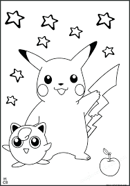 coloring coloring pages free and ash pokemon pikachu page