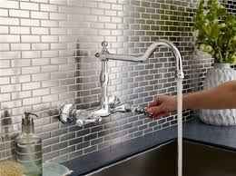 Small Picture Wall Mount Kitchen Faucet Wall Mount Kitchen Faucet With Soap