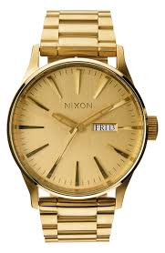 gold tone watches for men nordstrom