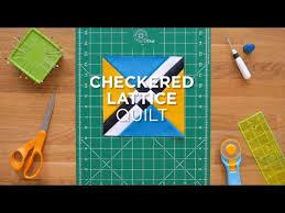 Quilt Snips Mini Tutorial - Checkered Lattice - YouTube & Quilt Snips Mini Tutorial - Checkered Lattice. Missouri Star Quilt Company Adamdwight.com