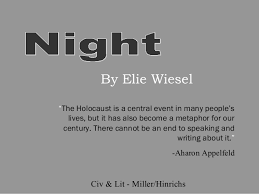 Night By Elie Wiesel Quotes Adorable Night By Elie Wiesel Quotes Unique 48 Best Night Elie Wiesel Quotes