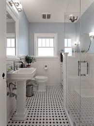 bathroom white tiles: blue and white bathroom bathroom victorian with black white