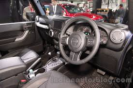 jeep 2015 wrangler unlimited interior. jeep wrangler unlimited interior at auto expo 2016 2015