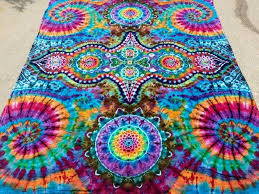 diy tie dye tapestry awesome tie dye sheet tapestry psychedelic trippy boho festival of 21