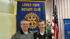 Student of the Month, Tanner Elliott | Rotary club of Loves Park