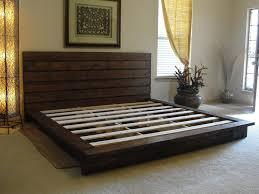 diy king size platform bed frame lovely 58 best camas king images on
