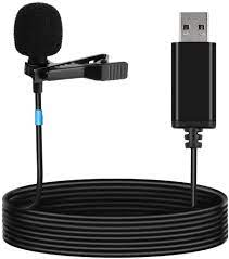 Amazon.com: LarmTek USB lavalier Microphone,Lapel Microphone Compatible  with Laptop,Desktop,Pc and Mac,Omnidirectional Microphone Perfect for Video  Recording,Skype,Cameras,Remote Work Streaming,Podcasting… : Electronics