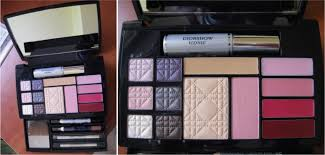 expert travel studio all over makeup palette the essential of dior makeup