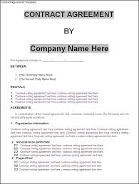 sample contract agreement simple contract agreement form savebtsaco simple contract agreement
