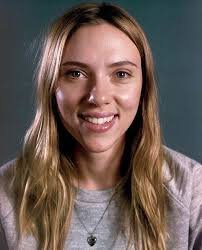 scarlett johansson with no makeup for vanity fair
