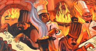 kitchen paintingsCooks in the Kitchen  Joseph Watson Paintings