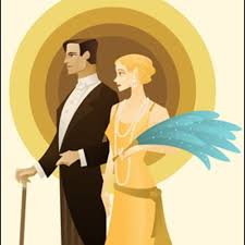 Image result for the great gatsby CLIP ART