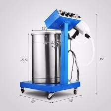 new electrostatic spray powder coating system machine spraying paint system powder coating equipment