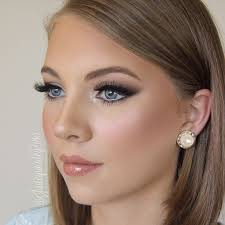 natural bridal and bridemaids makeup wedding makeup a makeup once done in the whole life yishifashion